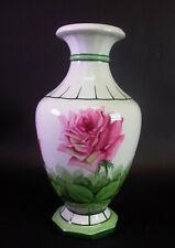 Mehlem Bonn - schöne Art Deco Vase - Rosendekor