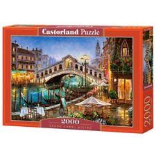 Castorland Jigsaw 2000pc -grand Canal Bistro - Grand Puzzle C2006892 Pieces