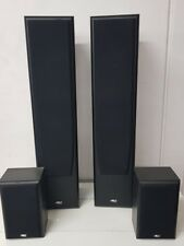 DTX 7.5 home speakers  2 x free standing  2 x shelf or wall mount