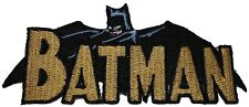Batman 1970's Comic Book Embroidered Logo Patch