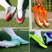 Men's Kids Soccer Cleats Shoes Indoor TF Turf Football Trainers Sports Sneakers