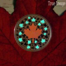 2018 - Hearts Aglow - 1/4 oz $5 Glow-In-The-Dark Pure Silver Coin - Canada