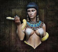 1/12 Cleopatra Bust Model Kit Unassambled Unpainted