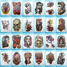 24 sheets/lot extra large arm tattoo temporary Body Art Decal wholesale