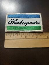 Vintage Shakespeare Fishing Equipment Patch