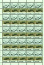 1927 BENTLEY 3L Grand Prix Race Car 50-Stamp Sheet (1984 Vaitupu TUVALU)