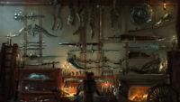 Video Game Bloodborne Silk poster wallpaper 24 X 13 inches