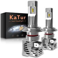 H7 ZES 110W 30000LM LED Kit Xenon ampoule de voiture Lampe Canbus Super Blanc 2X