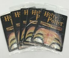 (5) Harry Potter 2001 Wizards Trading Card Game Promo Packs