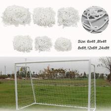 Weave Multi Size Sports Practice Goal Post Nets Soccer Training Football