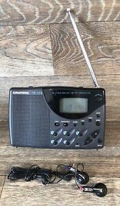 GRUNDIG YB 320 Yacht Boy FM / MW / Short Wave Radio PLL Synthesizer TESTED WORKS
