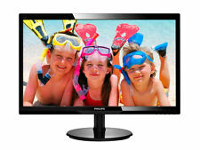 "Philips V-line 246V5LHAB/00 LED-Monitor 61cm (24"") 1920x1080 Full HD Black Neu"
