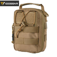 IDOGEAR Airsoft Medical Pouch First Aid Utility Pouch MOLLE EMT Army 500D Nylon