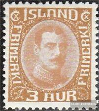 Island 157 gestempelt 1931 Christian