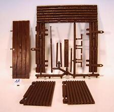 Timpo Toys Ersatzteile f Fort Tor & Türen am Spritzling