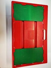 Lego vintage lap play table sliding storage baseplates red green (1998)