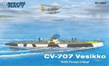 Special Navy 1/72 Kit 72004 CV-707 Vesikko WW.2 Finnish submarine