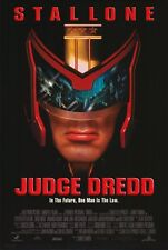 JUDGE DREDD Movie POSTER 27x40 B Sylvester Stallone Armand Assante Diane Lane