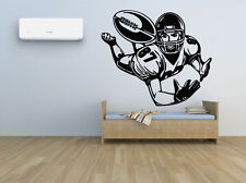 Wall Room Decor Art Vinyl Sticker Mural Decal American Football Sport Fan FI292