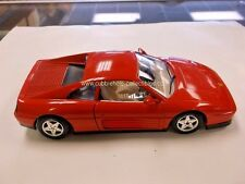 Bburago 1989 Ferrari 348 TB in Red 1:24 - Loose, Beautiful Condition!!