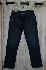 Abercrombie & Fitch Slim Straight Dark Wash Jeans 30 X 32