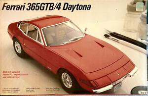 RARE! Testor Italeri Ferrari 365GTB/4 Daytona Model Kit 1/24 Factory Sealed Mint