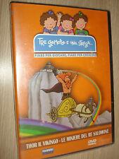 DVD TRE JUMEAUX ET UNA STREGA THOR VIKINGO LES MINES DE RE SALOMON FIABE