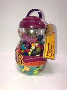 B. Jeweled Pop-Arty! 500pcs Beads Jewelry New SEALED Gift