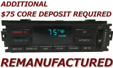 REMAN 1993 1994 Lincoln Town Car A/C Heater Climate Control EATC w/ HARD BUTTONS