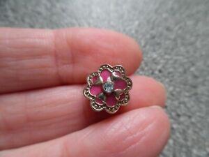 CHAMILIA  CHERISH 925 Sterling silver & Swarovski PINK charm bead . BNWOT