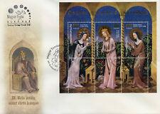 Hungary 2017 FDC Saints & Blesseds Pt V 3v Special M/S Cover Saint Margit Stamps