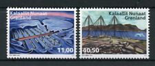 Greenland 2018 MNH Abandoned Stations II 2v Set Exploration Architecture Stamps
