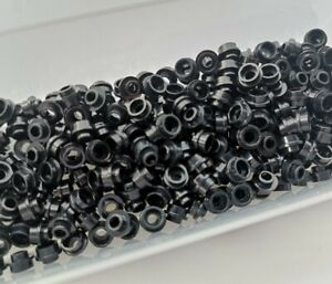 LEGO Plate Round 1 x 1 with Open Stud part 85861 New Pack of 10 Black Ref:335