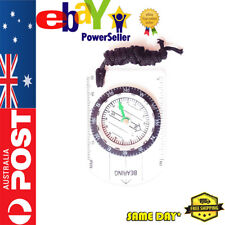 Outdoor Portable Compass Map Ruler for Hiking Camping Survival Travel Australia