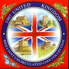 United Kingdom 1997 Brilliant Uncirculated Coin Collection