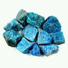2300 CTS Natural unheated Rough Blue Apatite Stones 1 lb