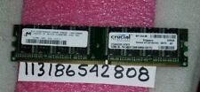 512MB PC 2700 DDR 333 PC2700 DDR333 184PIN NON-ECC DUAL RANK 2RX8 32X8 PC RAM