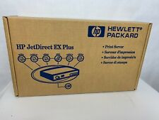 HP Jetdirect EX Plus J2591A Single Port External Print Server Ethernet Parallel