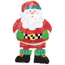 "CHRISTMAS PARTY SUPPLIES 37"" AIRWALKER BALLOON PARTY DECORATIONS SANTA BALLOON"