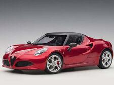 Autoart Alfa Romeo 4C Spider 1:18 Model Car Competition Red 70142