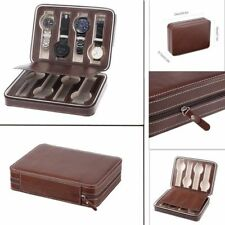 Travel Watch Storage Box Dispaly Case Watch Organizer Holder For 8 Watches