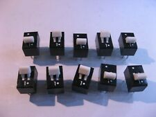 DIP Switch 2 Position Opposite Action SPDT Through Hole PCB Mount - NOS Qty 10