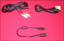 AV Cable & 32X Data Link Cable Complete Set Up for Sega Genesis 1 System NEW