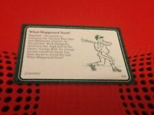 606 Toronto Blue Jays Orioles Baseball una questione di SPORT GAME CARD SUBSET 1987