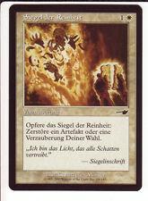 4x Seal of Cleansing / Siegel der Reinheit (Nemesis) Enchantment