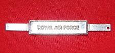 ROYAL AIR FORCE  Full Size Medal Ribbon Bar - Tangs