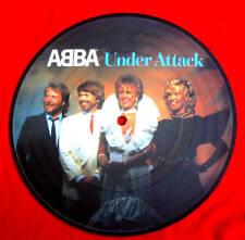 """ABBA - Under Attack - Rare Original UK 7"""" Picture Disc (Vinyl)"""