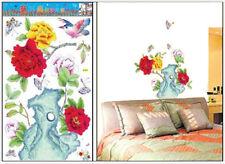 Rose Tree Wall Art Flower Decal Home Paper Sticker HL-5615