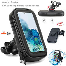 Bike Scooter Bicycle Mobile Phone Holder Handlebar Mount For All Samsung Galaxy