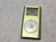 Apple A1051 4gb Green iPod Mini Mp3 Player -Cz